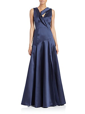 Vaccaro Satin Gown