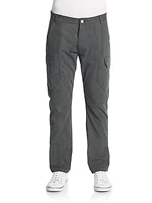 Slim-Fit Cotton Cargo Pants