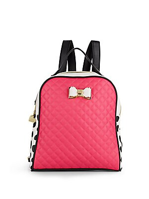 Houdini Polka-Dot Backpack