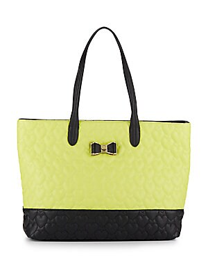 Be My Bow Colorblock Tote