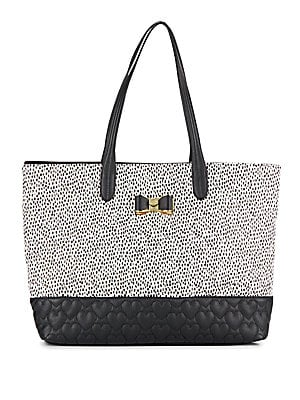 Be My Bow Spotted Tote