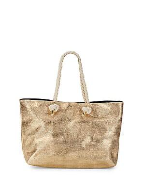 Angled Shape Tote Bag