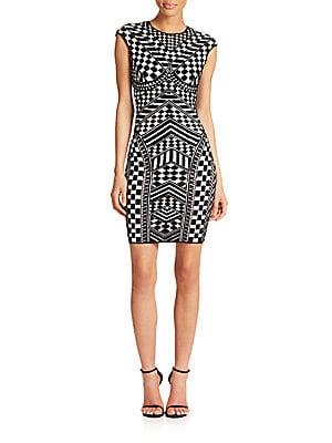 Checker 3D Printed Dress