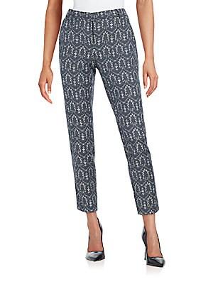 Jacquard Pants