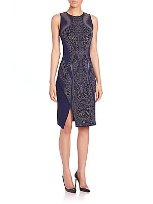 Athena Jacquard Dress