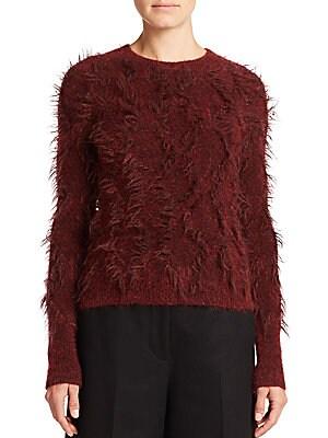 Dimensional Jacquard Sweater