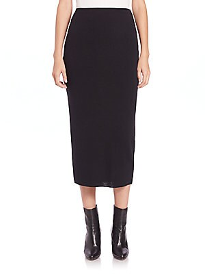 Icon Wool Pencil Skirt