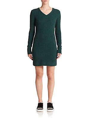 marc jacobs female woolblend sweater dress
