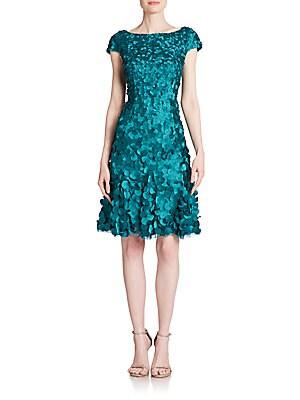 Petal-Embellished Dress