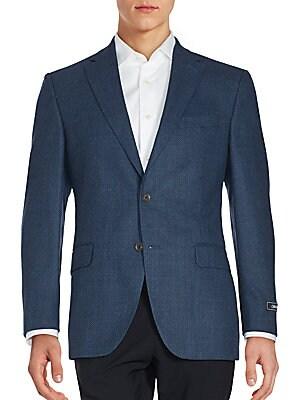 Solid Wool Sportcoat
