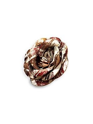 Flower Cork Lapel Pin