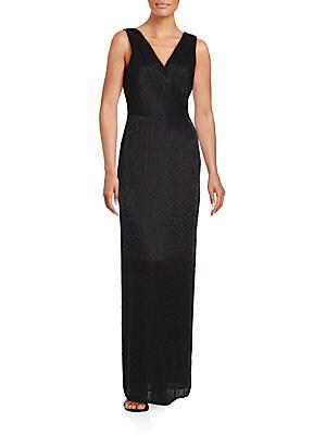 diane von furstenberg female sleeveless embellished gown