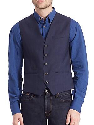Tailored Woolen Gilet