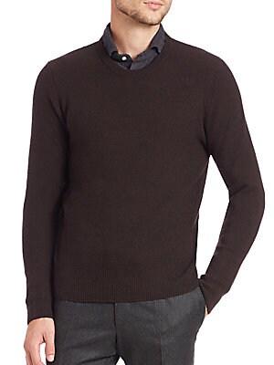 Wool & Cashmere Crewneck Sweater