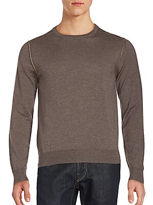 Wool Long Sleeve Pullover
