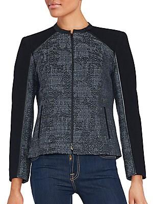 Front Zip Long Sleeve Jacket