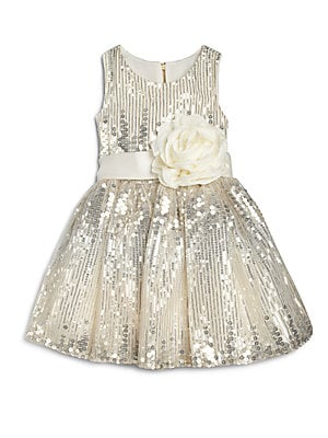 Girl's Sequined Party Dress