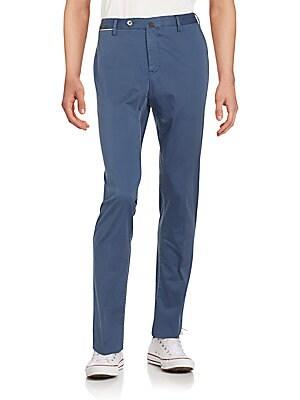 Slim-Fit Four-Pocket Pants