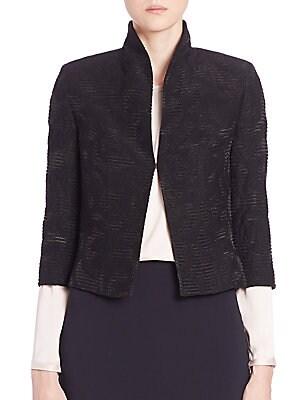 Lace Jacquard Jacket