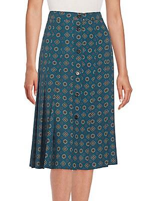 Darlington Silk Skirt