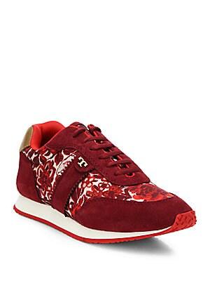 Pettee Mixed-Media Sneakers