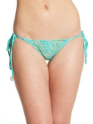 Lace String Bikini Bottom