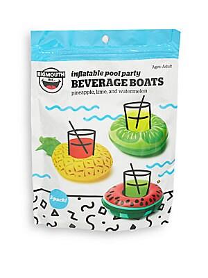 Inflatable Fruit Beverage Boats