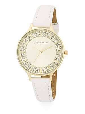 AV Embellished Analog Watch