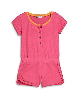 Little Girl's Short-Sleeve Romper