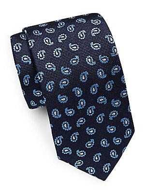 Italian Silk Paisley Tie