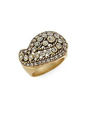 Divine Miss Daisy Multicolored Rhinestones & Swarovski Crystal Ring