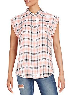Becky Plaid Shirt