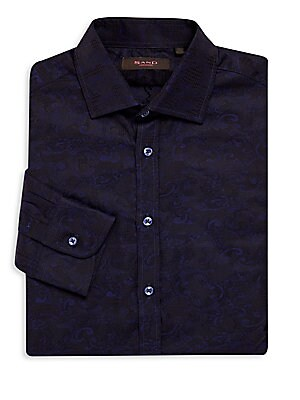 Cotton Paisley Sportshirt