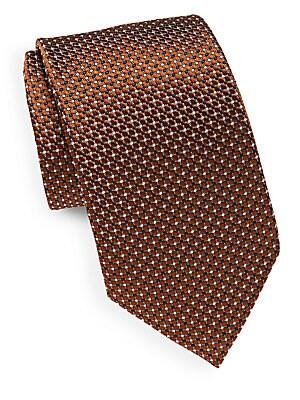 Italian Silk Polka Tie