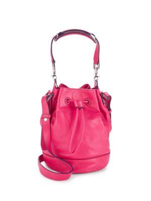Mini Leather Bucket Bag Mackage