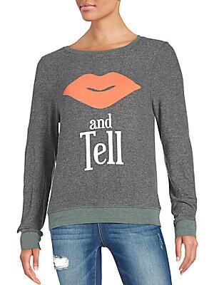 Kiss & Tell Sweatshirt