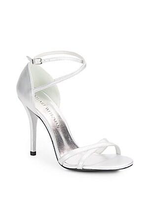 Livia Metallic Leather Sandals