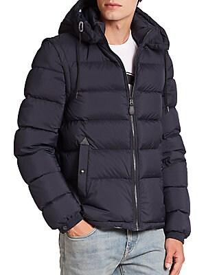 Bashford Nylon Hooded Jacket
