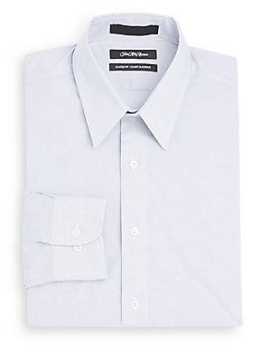 Classic-Fit Fine Striped Dress Shirt