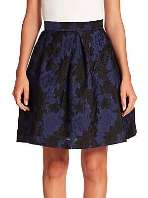 Philomen Floral Brocade Skirt