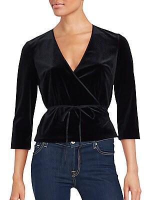 Tailored Wrap-Waist Jacket