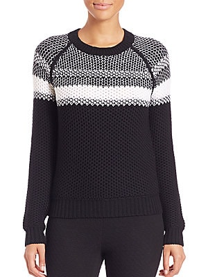 Larus Canon Striped Wool Sweater