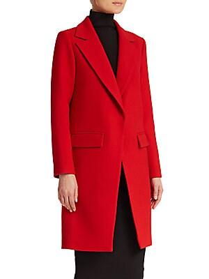 Claudia Bonded Wool Coat