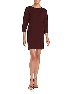 Merino Crewneck Sweater Dress