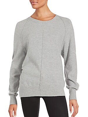 Long Sleeve Jewelneck Pullover