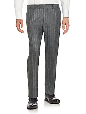 Striped Dress Pants