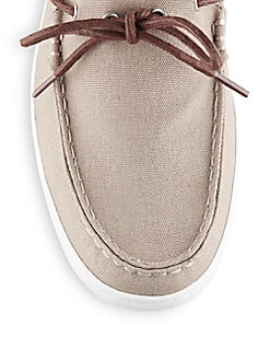 Lincoln Canvas Boat Shoes