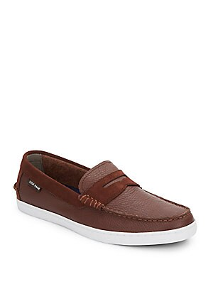 Nantucket Leather Loafers