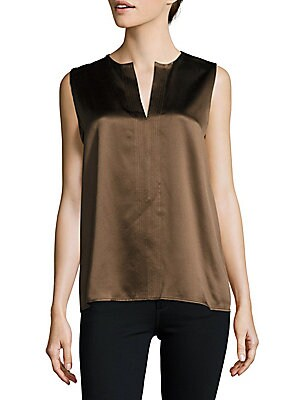 Textured Silk Top