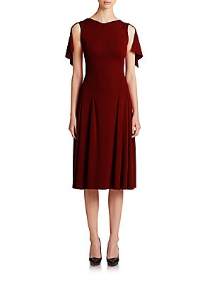 Crepe Jersey Cocktail Dress